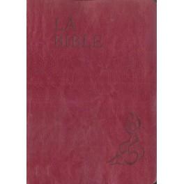 LA BIBLE PAROLE DE VIE ILLUSTRÉE VALLETON, SOUPLE ROUGE -1055