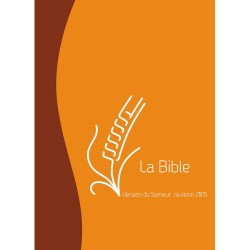 Bible Semeur 2015 duoton orange brun