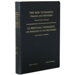 Nouveau Testament & Psaumes & Proverbes français courant Anglais-Français