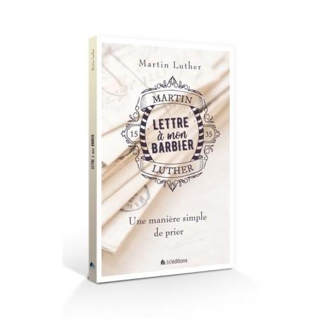 LETTRE A MON BARBIER (Martin Luther) couverture