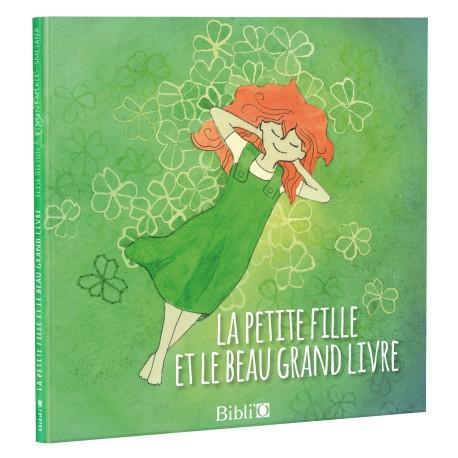 La petite fille et le beau grand Livre