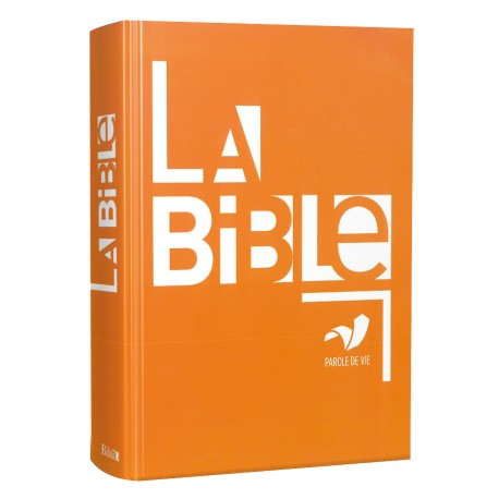 BIBLE PAROLE DE VIE , AGRANDI, RIGIDE 1090