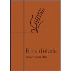 Bible Semeur (étude) marron