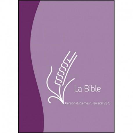 Bible Semeur 2015 duoton mauve violet