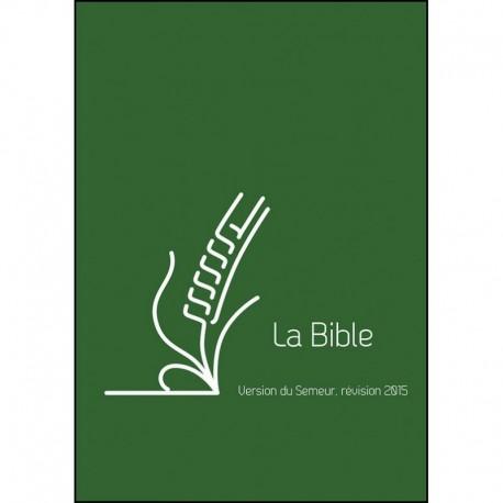 Bible Semeur 2015 lin vert