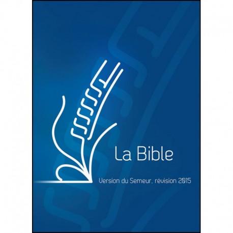 Bible Semeur 2015 pelliculé bleu