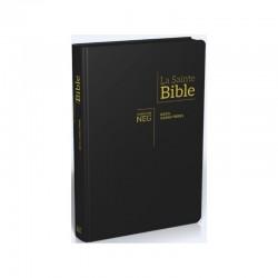 La Sainte bible Version NEG gros caractères noir tr.or tirette