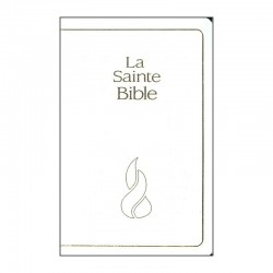 Bible NEG compacte mariage blanc tr. or