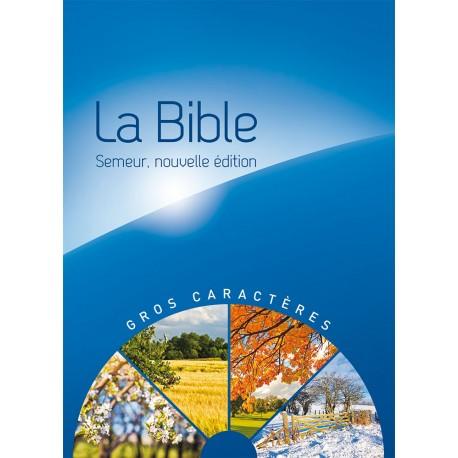 bible semeur 2015 fros caractère rigide bleu illustrée