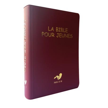 BIBLE POUR JEUNES Pdv + DC souple rouge