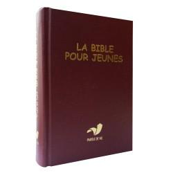 BIBLE POUR JEUNES Pdv + DC hc rouge