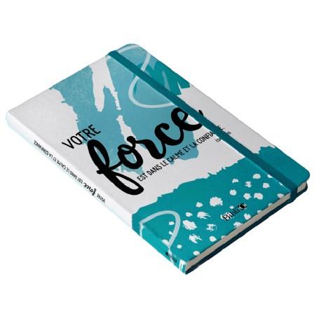 Carnet de notes: Votre force est dans le calme: ISBN: 9782853007146 REFSBFB: 6057