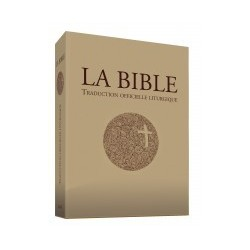 Traduction officielle liturgique de la Bible - Relié, étui imprimé