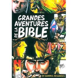 GRANDES AVENTURES DE LA BIBLE EN BANDES DESSINÉES 9782850317552- 5934
