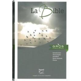 BIBLE SEGOND 21 GRAND CARACTÈRE, RIGIDE 1423