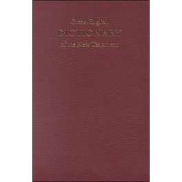 GREEK-ENGLISH DICTIONARY OF THE NEW TESTAMENT -q60086