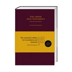 THE GREEK NEW TESTAMENT WITH DICTIONARY -2683n