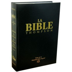 BIBLE D'ÉTUDE THOMPSON NBS 1477