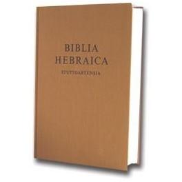 BIBLIA HEBRAICA STUTTGARTENSIA 1701