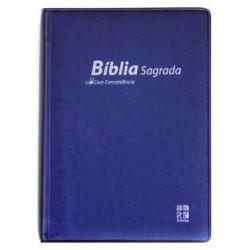 BIBLE PORTUGAIS (ALMEIDA) SOUPLE VYNIL 9789896500771 -w650052
